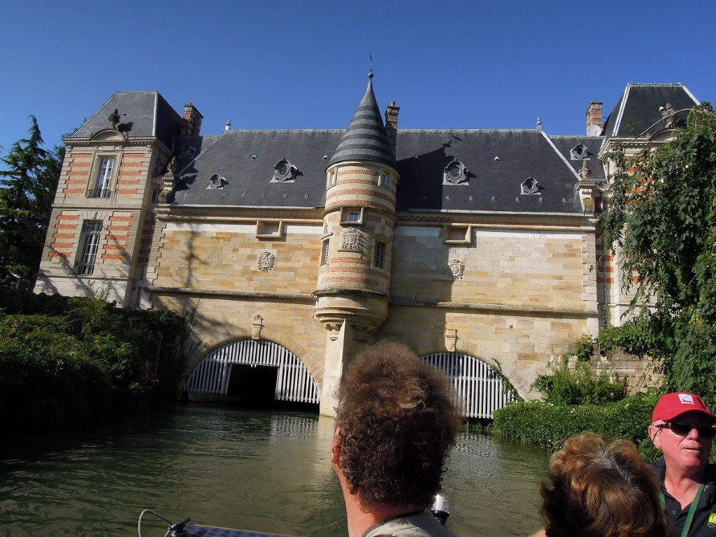 Chalons en Champagne, city tour by boat, 21-8-13