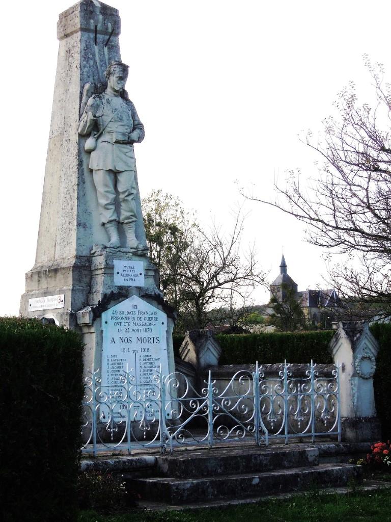 Surroundings, French memorial of the 1870 - 1871 Franco German war at Passavent, 2-10-012